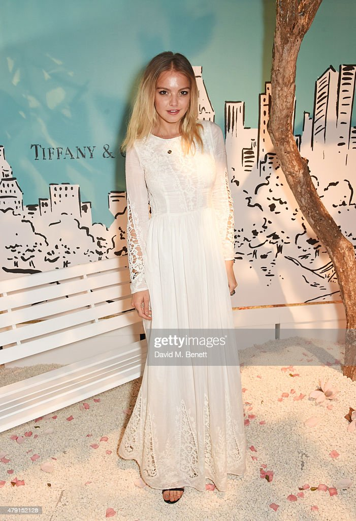 Laura Hayden attends the Tiffany & Co. immersive exhibition 'Fifth & 57th' at The Old Selfridges Hotel on July 1, 2015 in London, England.