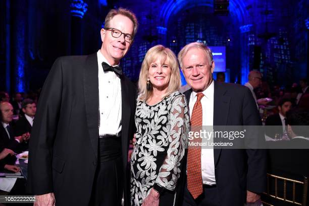 Laura Heatherly and guests attend The TJ Martell Foundation 43rd New York Honors Gala at Cipriani 42nd Street on October 15 2018 in New York City