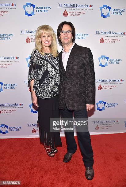 Laura Heatherly and Russell Wallach attend TJ Martell Foundation's 41st Annual Honors Gala at Gustavino's on October 18 2016 in New York City
