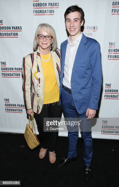 Laura Heery Prozas and Andrew Hennessy attend the 2017 Gordon Parks Foundation Awards Gala at Cipriani 42nd Street on June 6 2017 in New York City