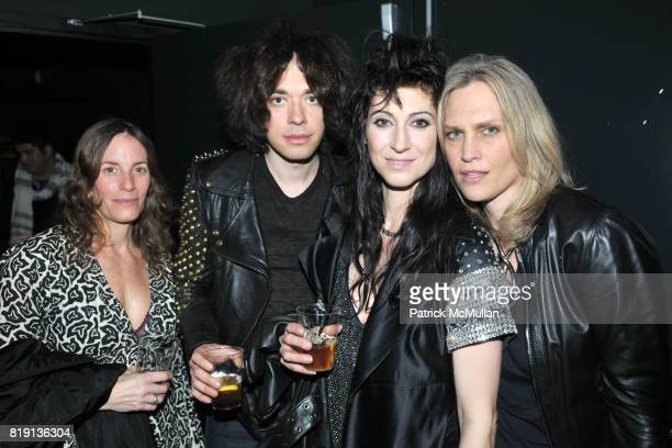Laura Hughes Lillian Berlin Floria Sigismondi and Sharon Middendorf attend THE RUNAWAYS A Gallery Event with FLORIA SIGISMONDI to Benefit STAND UP...