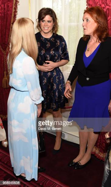 Laura Hughes Princess Eugenie and Sarah Ferguson attend the Oscar's Book Prize 2018 in association with the Evening Standard at St James's Palace on...