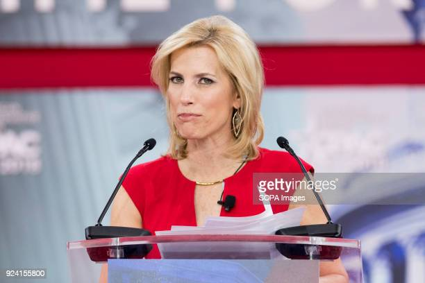 Laura Ingraham, American radio host, at the Conservative Political Action Conference sponsored by the American Conservative Union held at the Gaylord...