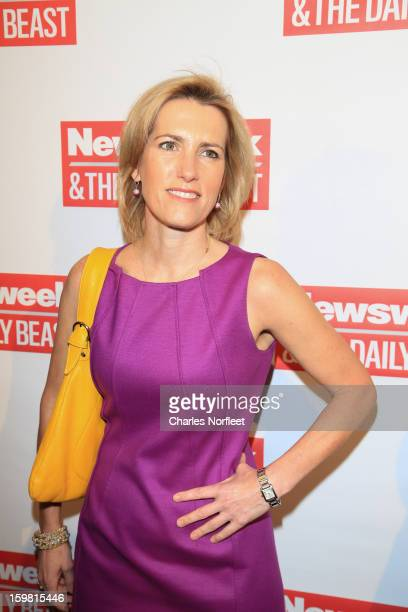 Laura Ingraham attends The Daily Beast BiPartisan Inauguration Brunch at Cafe Milano on January 20 2013 in Washington DC