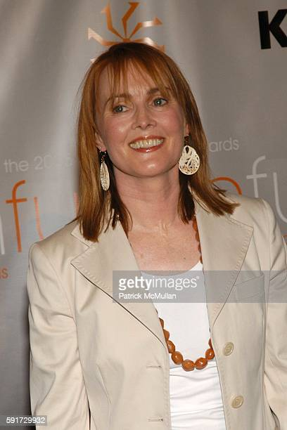 Laura Innes attends Women in Film Presents Fusion The 2005 Crystal Lucy Awards at The Beverly Hilton Hotel on June 10 2005