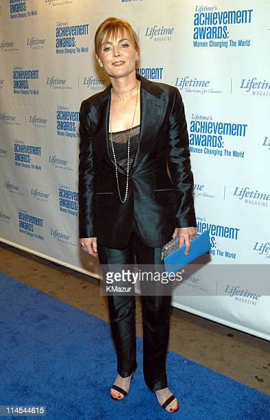 Laura Innes during Lifetime's Achievement Awards Women Changing the World Arrivals at Manhattan Center in New York City New York United States