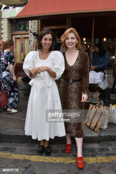 Laura Jackson and Alice Levine attend the launch of the Jackson Levine For Habitat serveware collection on May 30 2018 in London England