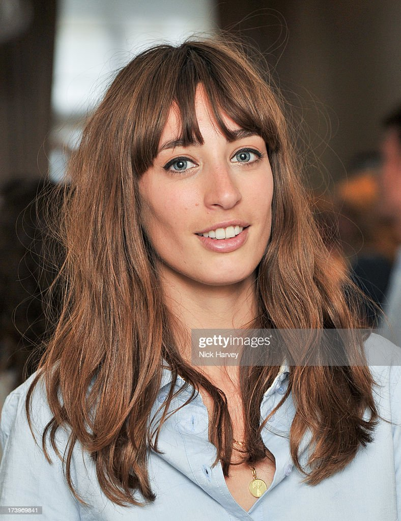 Laura Jackson attends sMATCHESFASHION.COM Partners With Rika On 'Iron Girl' Project For Rika Magazine on July 18, 2013 in London, England.