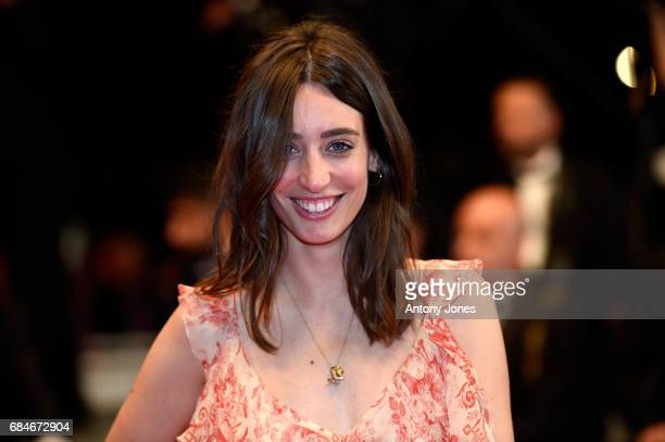 Laura Jackson attends the 'Blade Of The Immortal ' screening during the 70th annual Cannes Film Festival at Palais des Festivals on May 18 2017 in...