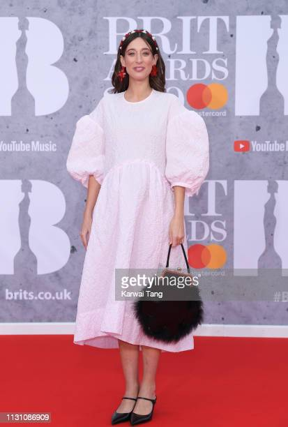 Laura Jackson attends The BRIT Awards 2019 held at The O2 Arena on February 20 2019 in London England