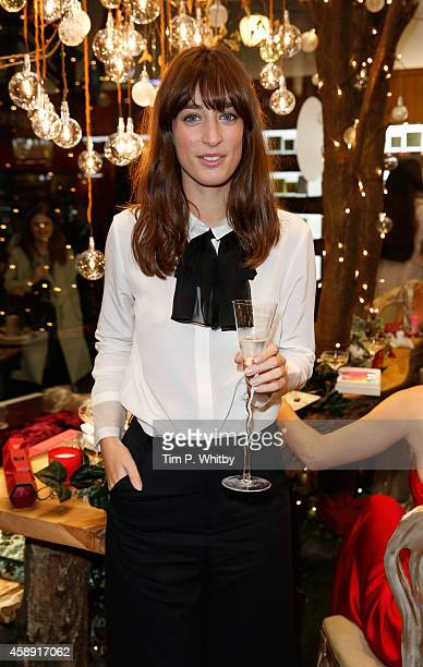 Laura Jackson attends 'The Molton Brown Splendid Christmas' Party' at the flagship store on Regent Street on November 13, 2014 in London, England.