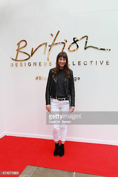 Laura Jackson attends the official launch of the British Designers Collective at Bicester Village on May 20 2015 in Bicester England