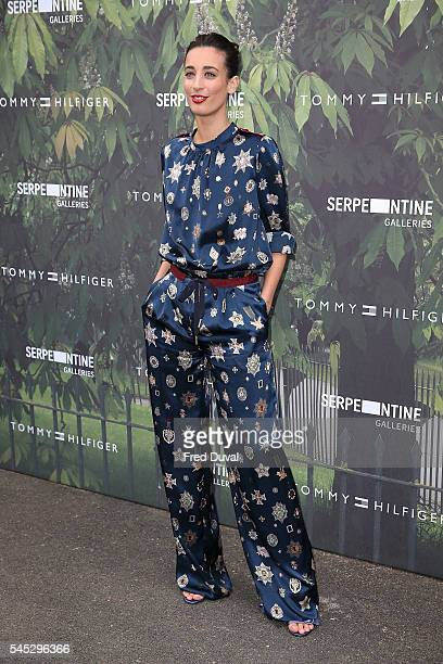 Laura Jackson attends the Serpentine Summer Party at The Serpentine Gallery on July 6 2016 in London England