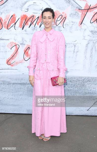Laura Jackson attends The Serpentine Summer Party at The Serpentine Gallery on June 19 2018 in London England