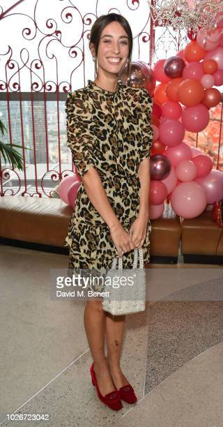 Laura Jackson attends the Verycouk AW18 collection preview at 110 Bishopsgate on September 4 2018 in London England
