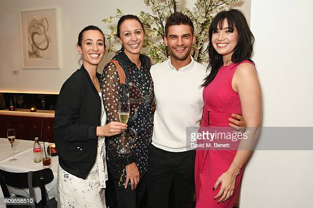 Laura Jackson Caroline Rush Aljaz Skorjanec and Daisy Lowe attend the launch of London Fashion Weekend hosted by Daisy Lowe in association with the...
