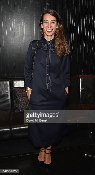 Laura Jackson joins Delta Air Lines for 'Baseline Sessions' a private karoke event to celebrate London's most iconic tennis tournament at the W...