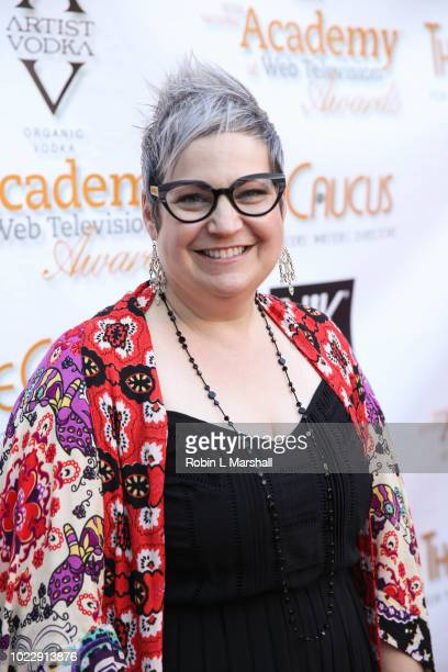 A Laura James attends the 6th International Academy of Web Television Awards at Skirball Cultural Center on August 24 2018 in Los Angeles California