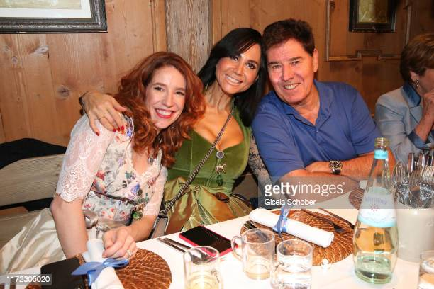 Laura Kaefer Raffaella White and her husband Jack White during the Oktoberfest 2019 at Kaeferschaenke beer tent / Theresienwiese on September 29 2019...