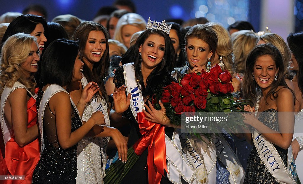 2012 Miss America Pageant : News Photo