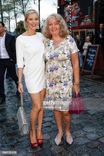 Laura Karasek and Armgard Karasek attend the 'Nacht der Legenden' at Schmidts Tivoli on September 04 2016 in Hamburg Germany
