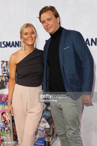 Laura Karasek and her brother Niko Karasek during the Bertelsmann Party 2019 at Bertelsmann Repraesentanz on September 12 2019 in Berlin Germany
