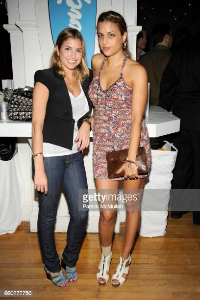 Laura Katzenberg and Charlotte Ronson attend The 10th Annual LOVE HEALS at Luna Farm Event at Polish Hall on June 20 2009 in Riverhead New York