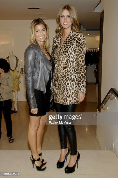 Laura Katzenberg and Nicky Hiltonat VALENTINO celebrates Fashion's Night Out with BAGATELLE at Valentino Boutique on September 10 2009 in New York
