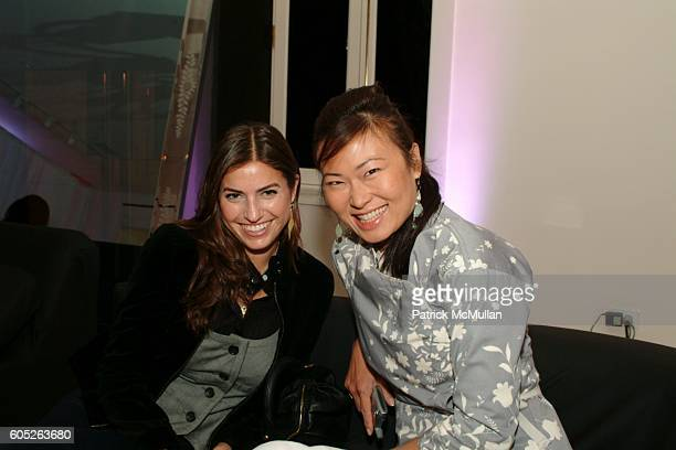 Laura Katzenberg and SunHee Grinnell attend Launch of Jean Paul Gaultier's Fragrance Gaultier 2 at Gaultier Showroom on May 23 2006 in New York City