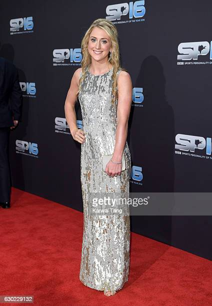 Laura Kenny attends the BBC Sports Personality Of The Year at Resorts World on December 18 2016 in Birmingham United Kingdom