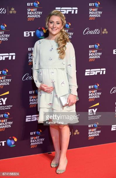 Laura Kenny attends the BT Sport Industry Awards at Battersea Evolution on April 27 2017 in London England