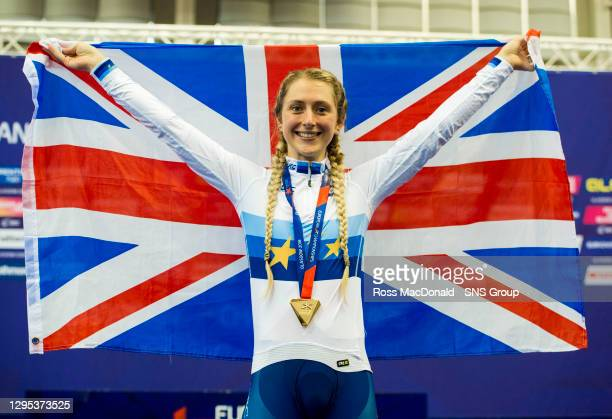 Laura Kenny wins Gold in the Women's Elimination Race Finals