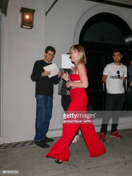 Laura Kildow is seen on July 12 2018 in Los Angeles California