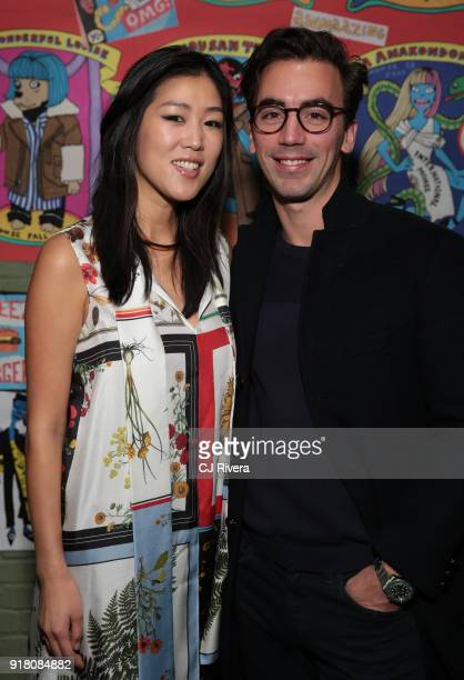 Laura Kim and Fernando Garcia attend the Monse launch party during New York Fashion Week on February 13 2018 in New York City