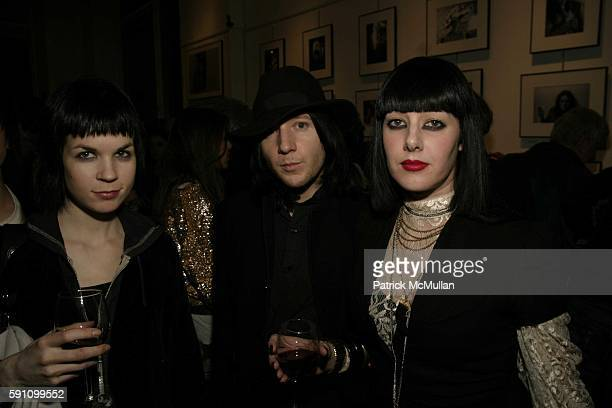 Laura Kraft Nick Price and Sarah Mahar attend Edie Sedgwick Unseen Photographs of a Warhol Superstar Opening Reception Hosted by Misha Sedgwick at...
