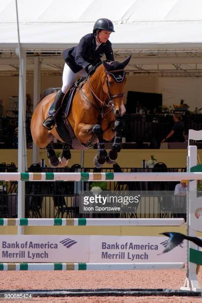 Laura Kraut during the $70000 Hollow Creek 150M Classic at the Winter Equestrian Festival at The Palm Beach International Equestrian Center in...