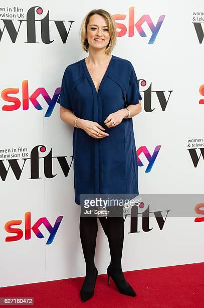 Laura Kuenssberg attends the Sky Women In Film & TV Awards at London Hilton on December 2, 2016 in London, England.
