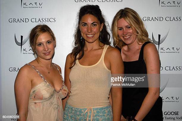 Laura Lachman Elizabeth Gutowski and Emma SchillingLaw attend Grand Classics Screening of THE KING OF MARVIN GARDENS Hosted by Holly Hunter and...