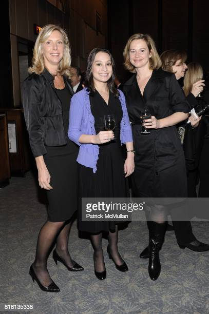 Laura Langdon Stephanie Yera and Danielle Rhoades Haas attend THE NEW YORK TIMES Celebrates the Expansion of DEALBOOK at The Four Seasons Restaurant...