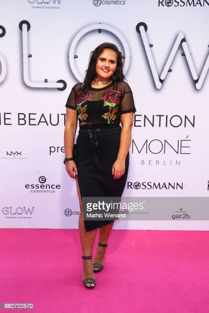 Laura Lareeva attends the GLOW The Beauty Convention on May 13 2017 in Duesseldorf Germany