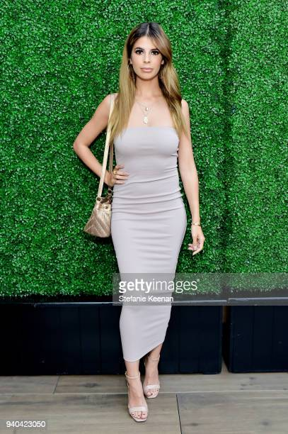 Laura Lee attends KKWxMario Dinner at JeanGeorges Beverly Hills on March 31 2018 in Beverly Hills California