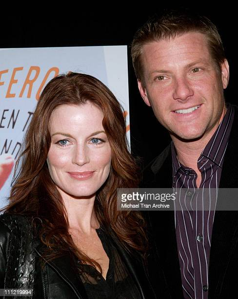 Laura Leighton and Doug Savant during Craig Ferguson's 'Between the Bridge and the River' Book Launch Party at The Tropicana Bar in Hollywood at The...