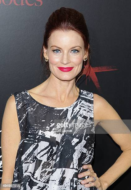 Laura Leighton attends the 'Pretty Little Liars' Celebrates 100 Episodes held at the W Hollywood Hotel on May 31 2014 in Hollywood California