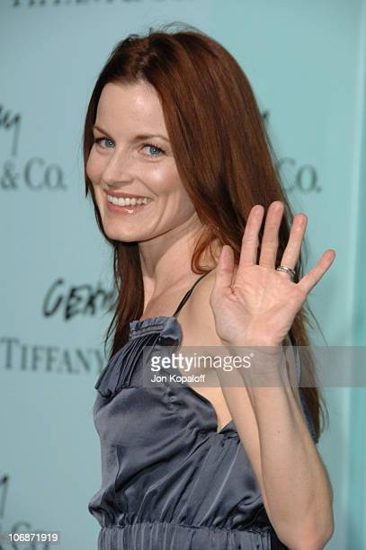 Laura Leighton during Tiffany Co Celebrates The Launch Of Frank Gehry's Premiere Collection On Rodeo Drive Arrivals at Tiffany Co in Beverly Hills...