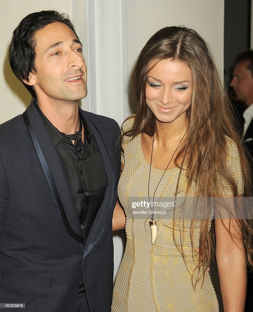 3f2c4fc8892fd Laura Lieto and Adrien Brody attends the Tom Ford cocktail party in ...