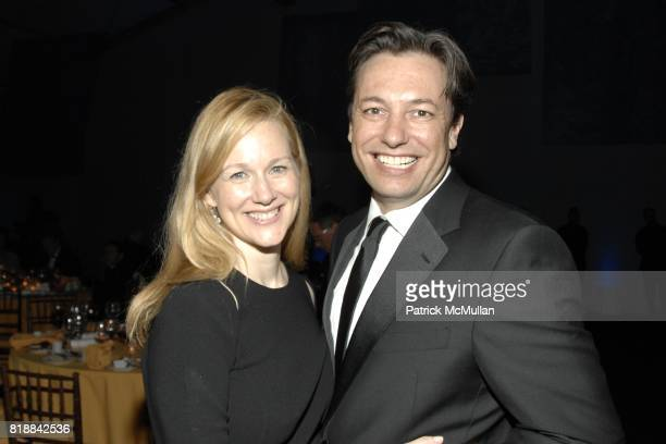 Laura Linney and Marc Schauer attend The Juilliard School Gala Celebrating Joseph W Polisi at The Juilliard School on April 26 2010 in New York City