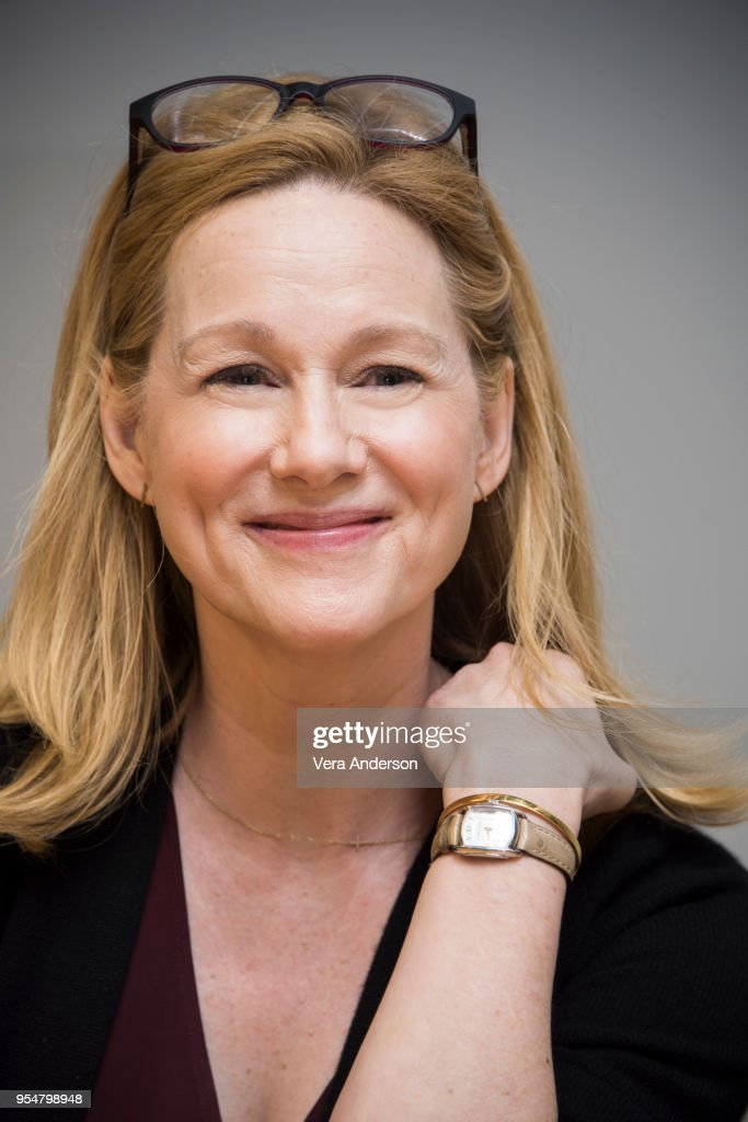 Laura Linney at the 'Ozark' Set Visit on May 1, 2018 in Atlanta, Georgia.