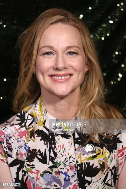 Laura Linney attend the 2017 Tony Awards Meet The Nominees Press Junket at the Sofitel Hotel on May 3 2017 in New York City