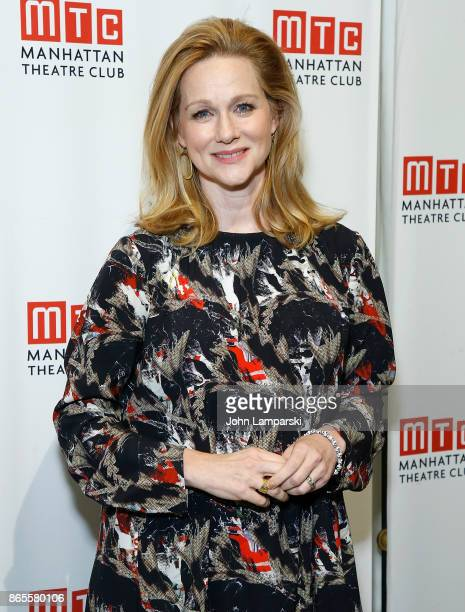 Laura Linney attends 2017 Manhattan Theatre Club Fall Benefit at 583 Park Avenue on October 23 2017 in New York City