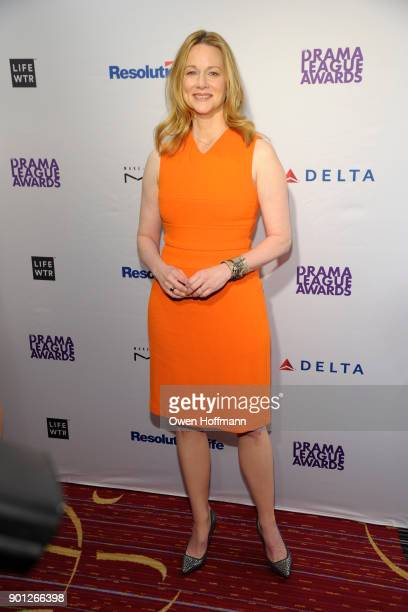 Laura Linney attends 83rd Annual Drama League Awards at Marriott Marquis on May 19 2017 in New York City